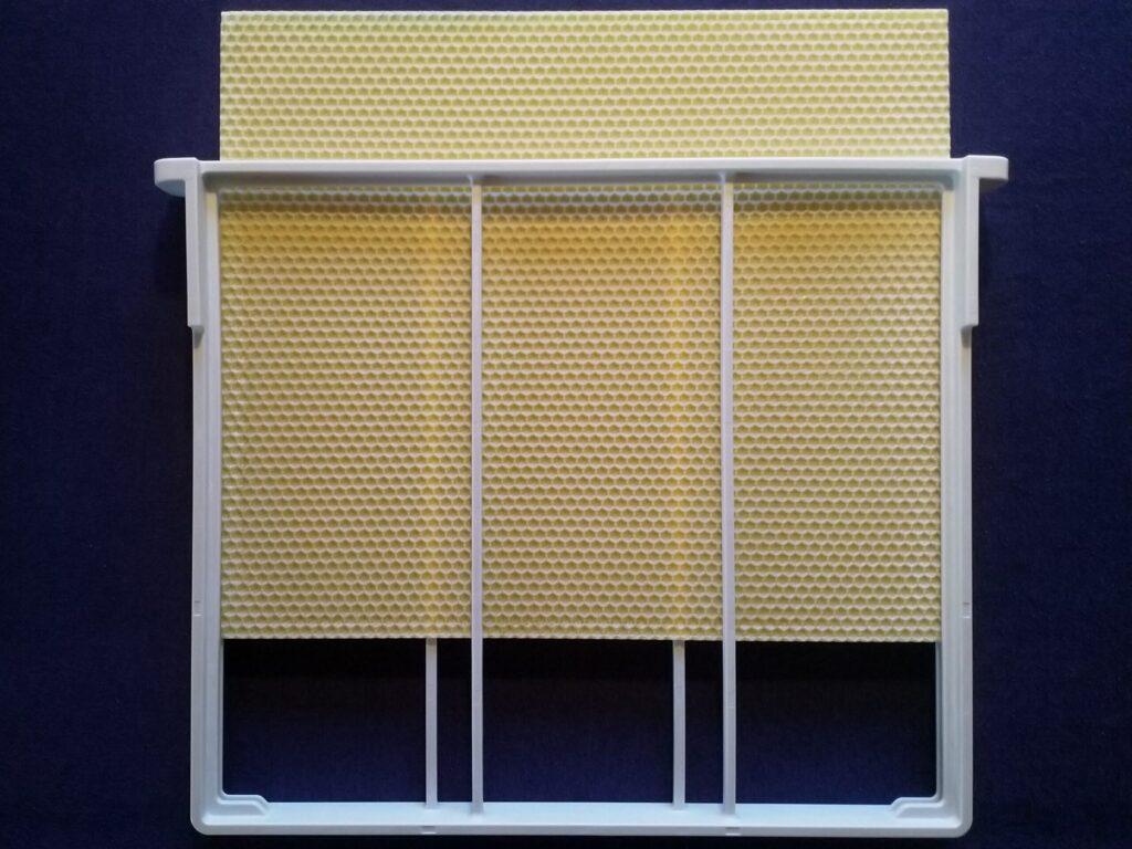1 Pcs. Wax Foundation For DALINNO Frame: 12×10