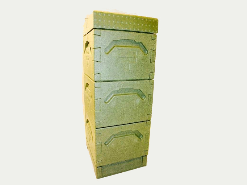 Tappernøje Hive (green) With 3 Hive Bodies: 12×10