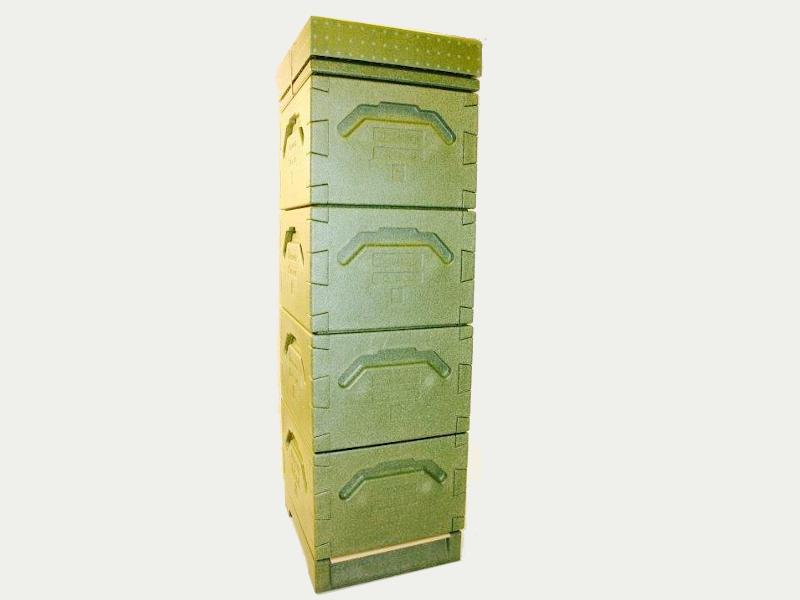 Tappernøje Beute (grünen) Mit 4 Zargen: 12×10